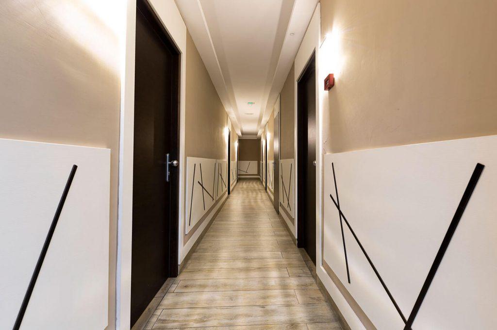 Corridoio dell'Hotel del Sole Pompei