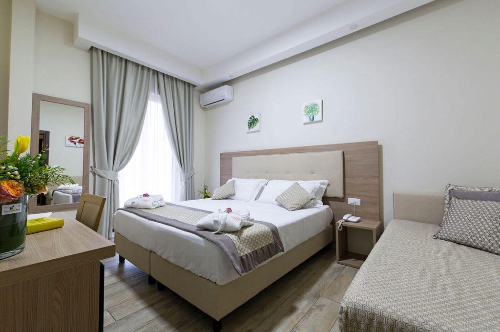 Matrimoniali standard dell'Hotel a Pompei