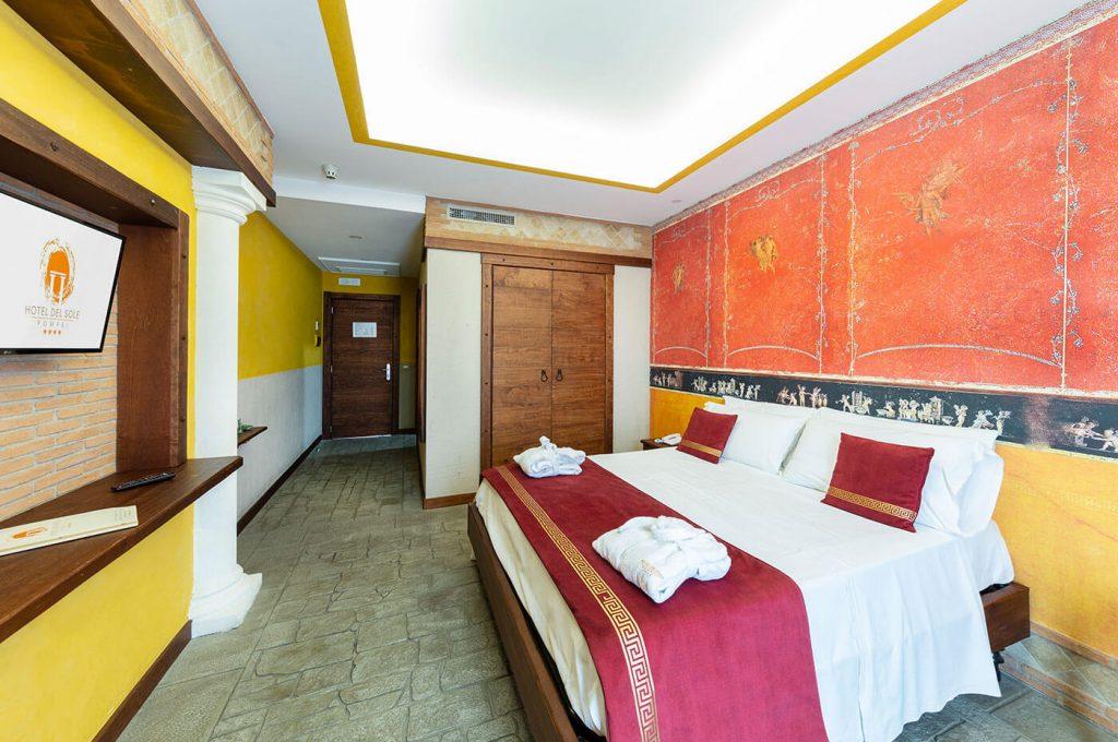 Scorcio laterale suite Amorini dell'Hotel a Pompei