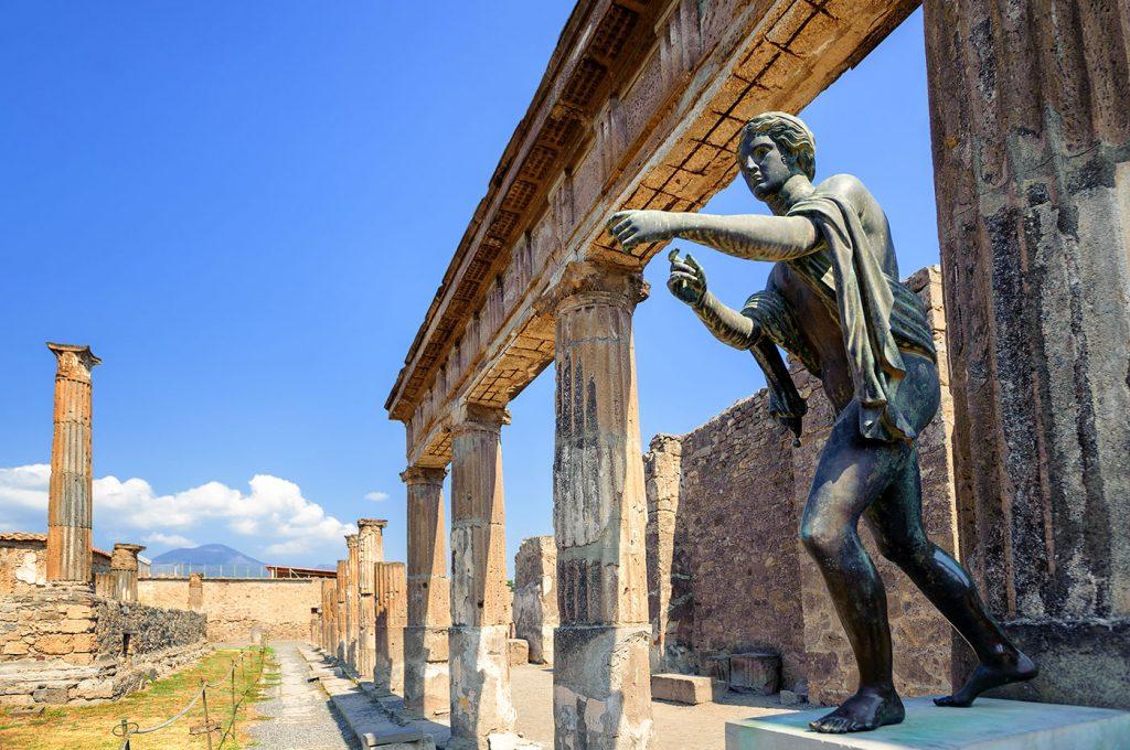 Aree degli scavi visitabili a Pompei