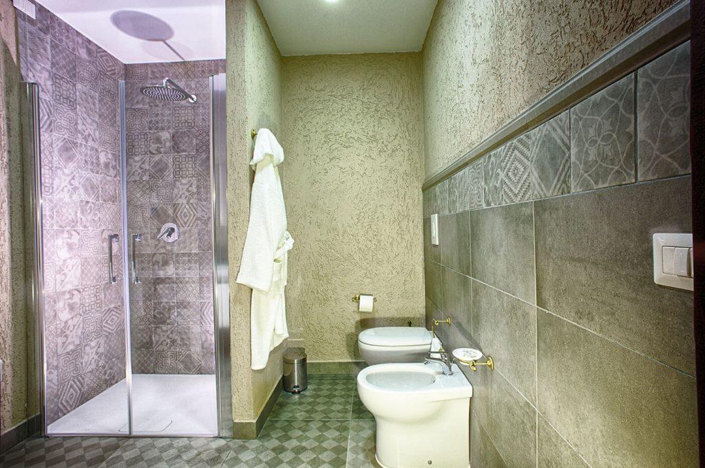 Bagno suite Villa dei Misteri Pompei