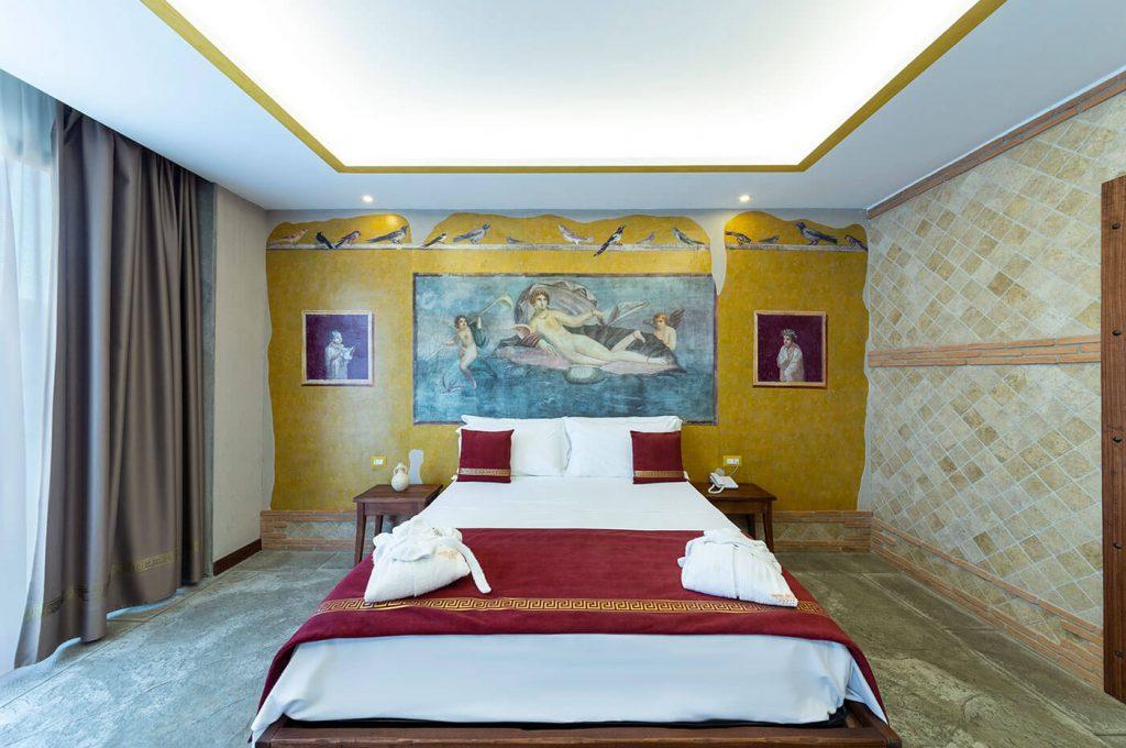 Camera da letto Suite Venere Hotel Pompei