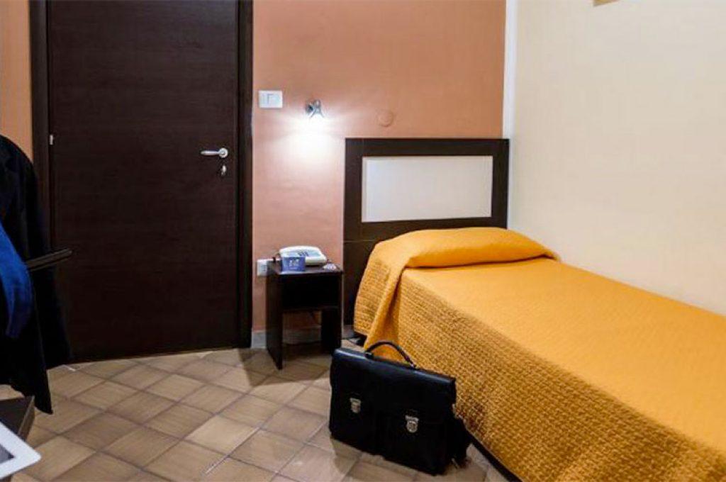 Camera singola economy dell'Hotel a Pompei