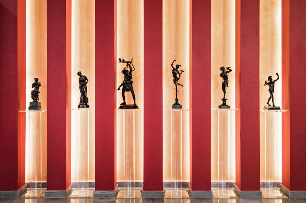 Suggestivo particolare dell'Hermes Bar a Pompei