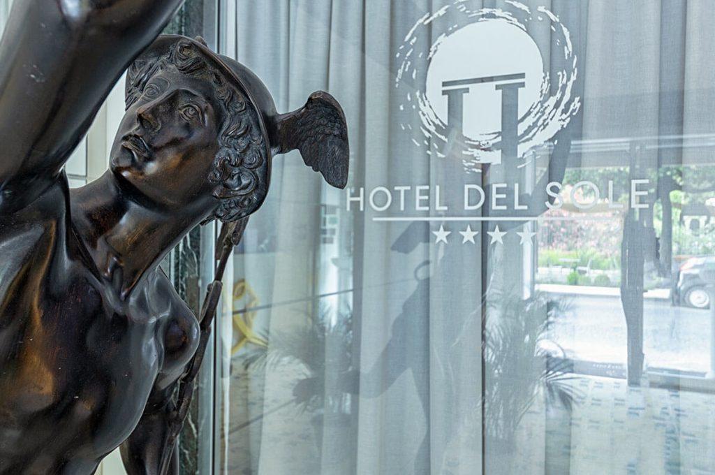 Ingresso 4 stelle Hotel del Sole Pompei