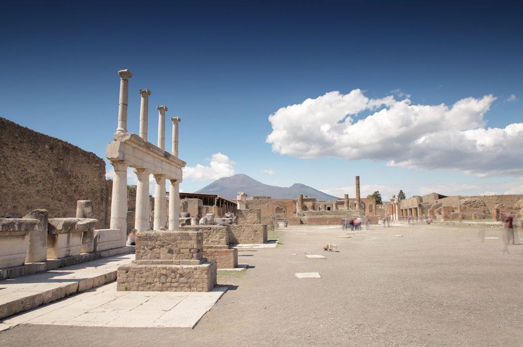 Area scavi di Pompei intorno all'hotel