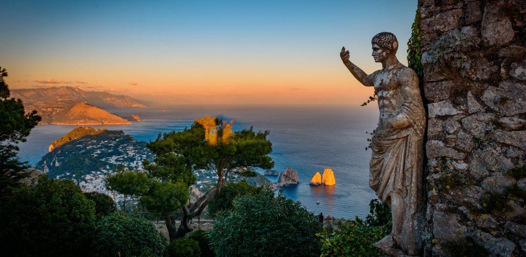Pompei moderna: panorami della Campania