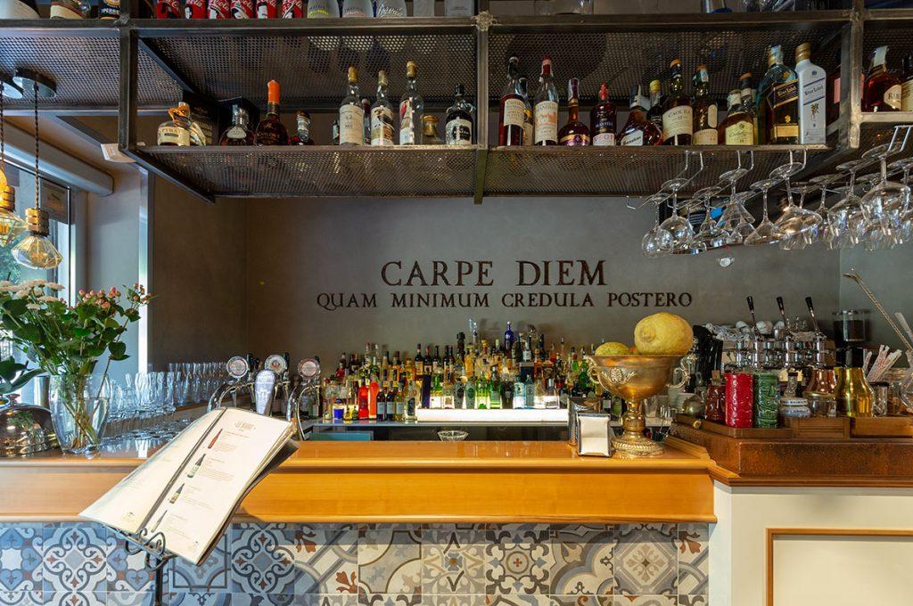 Suggestivo piano bar dell'Hotel a Pompei
