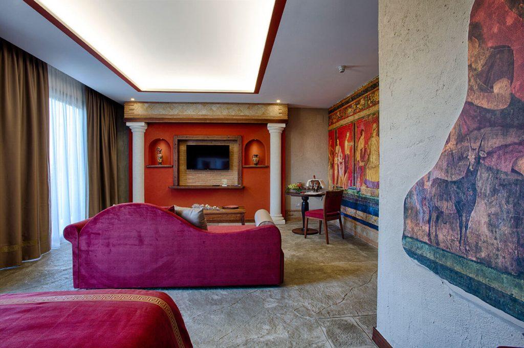Salotto Suite Villa dei Misteri Pompei