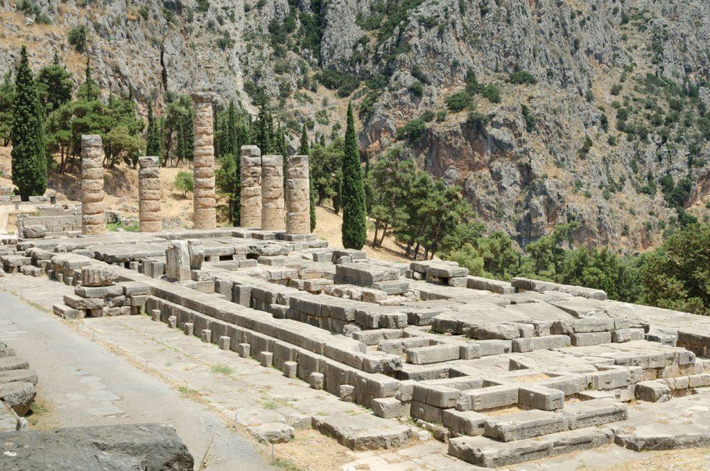 Vista sugli scavi archeologici, hotel Pompei