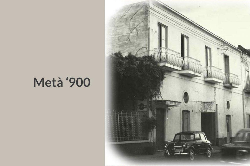La storia dell'Hotel del Sole a Pompei