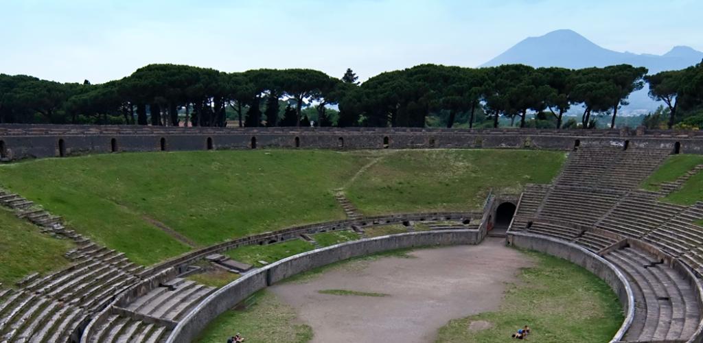 Pompei e l'Anfiteatro più antico del mondo